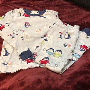 Gently Used Size 6 PB Kids Penguin PJs